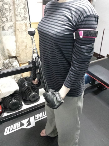 BFRトレーニング 上腕三頭筋 二の腕 痩せ しめる